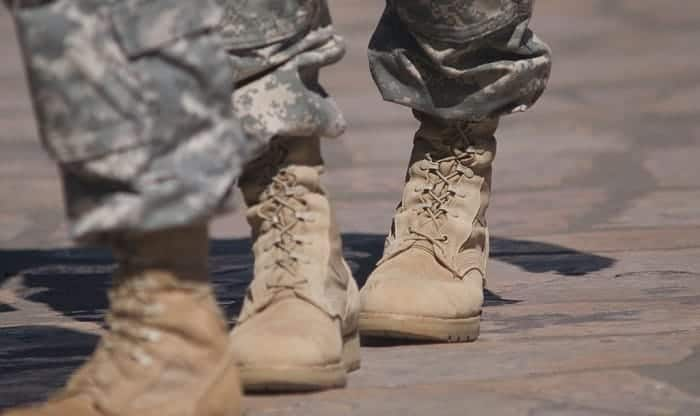 How To Tuck Pants Into Military Boots