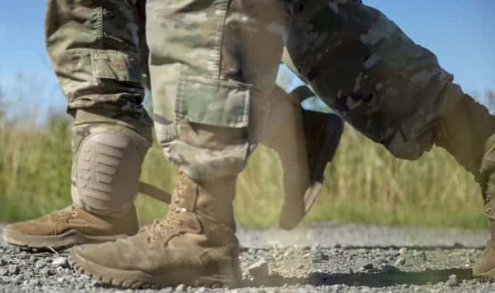 Breaking-in-Military-Boots-The-Dry-Way-