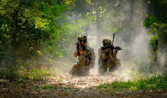 how do osha standards apply to the military