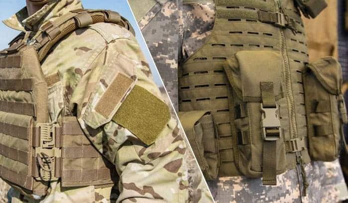 plate carrier or vest