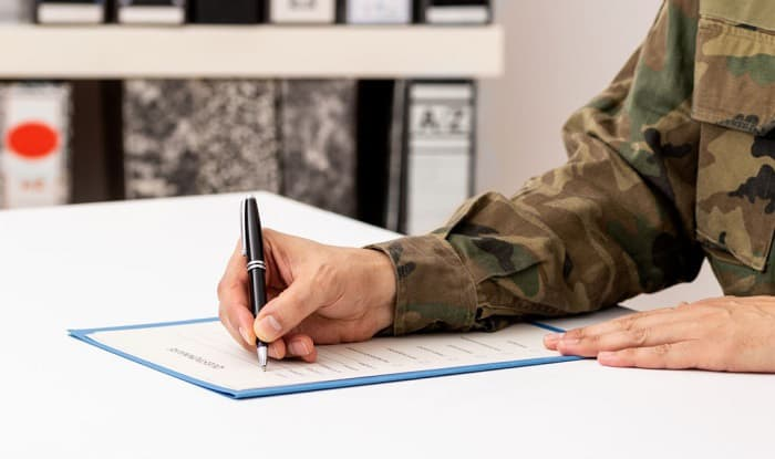 how to write a waiver letter for military