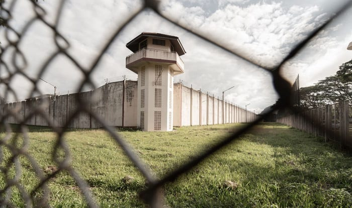 military prisons vs civilian prisons