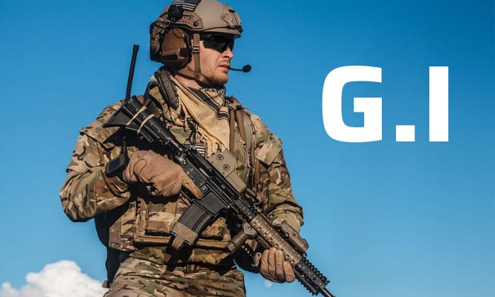 what- does gi mean in the military