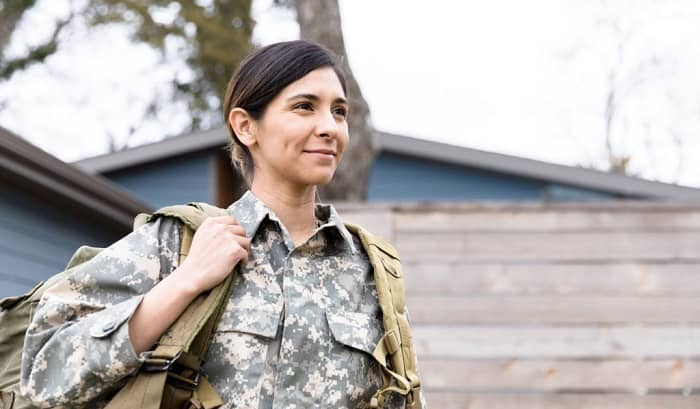 what is military life like for a woman